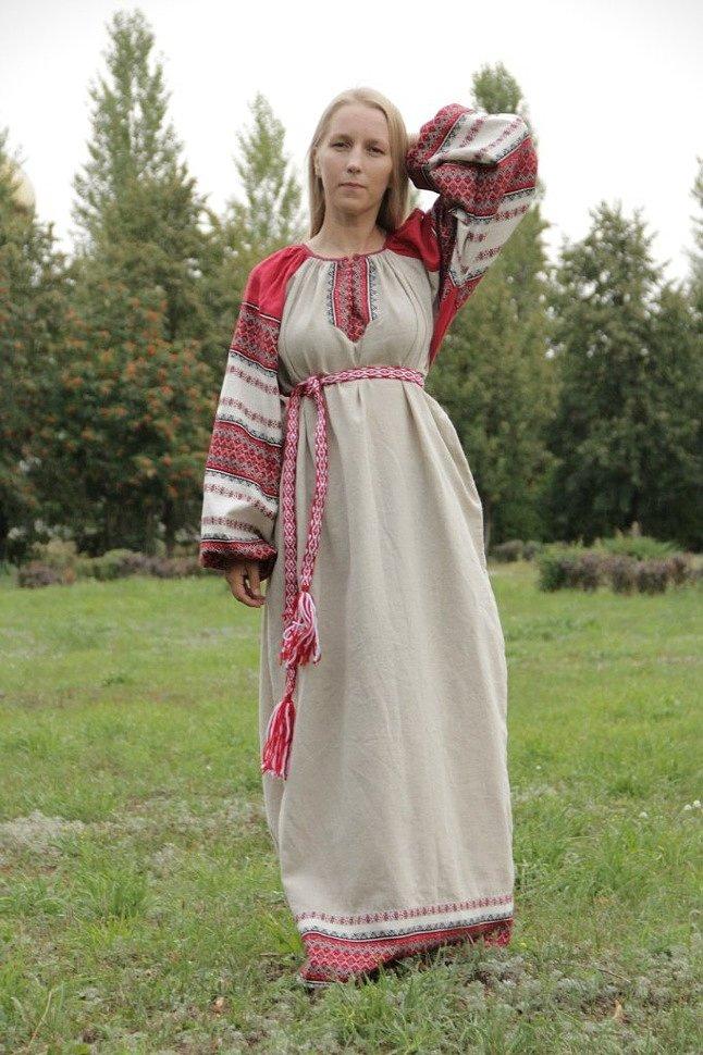 Платья в русском народном стиле своими руками