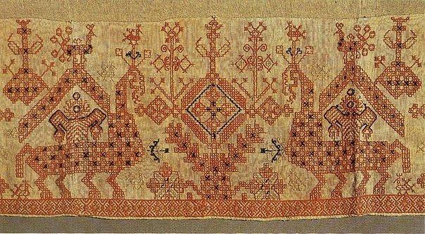 Русская вышивка 13 век 60