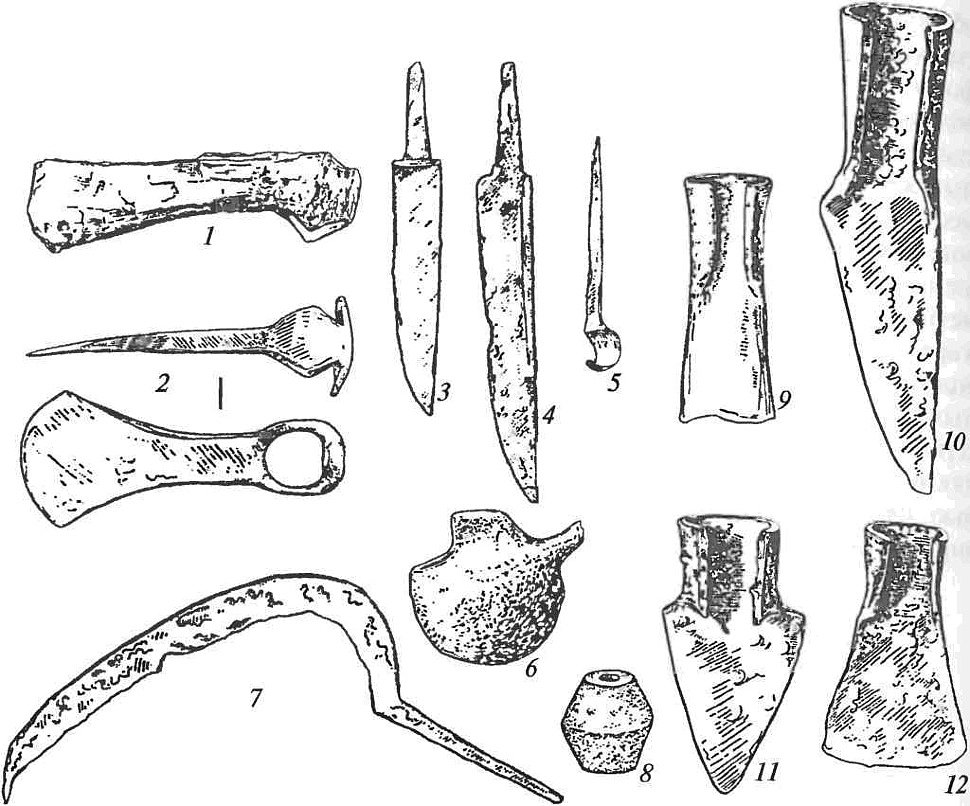 орудия древних славян картинки скрещивания