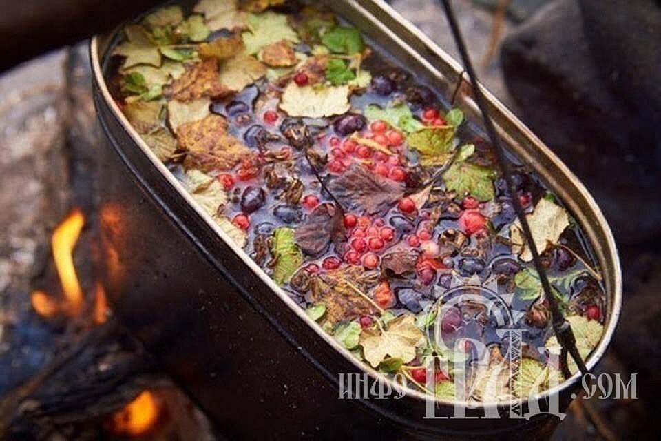 Полезные чаи из трав и ягод